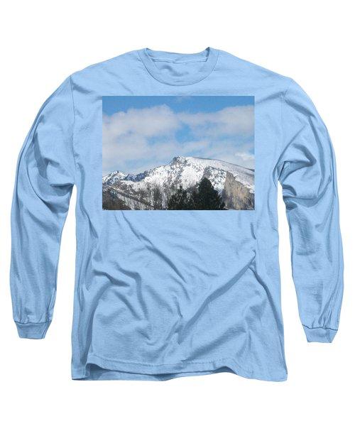 Overlooking Blodgett Long Sleeve T-Shirt by Jewel Hengen