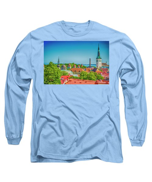 Overlooking Tallinn Long Sleeve T-Shirt
