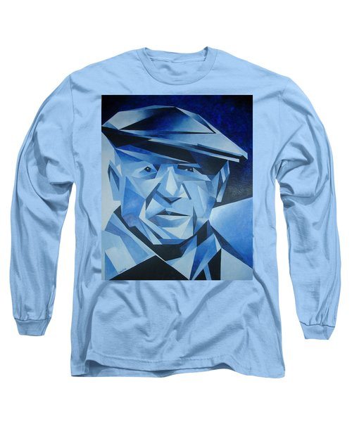 Pablo Picasso The Blue Period Long Sleeve T-Shirt