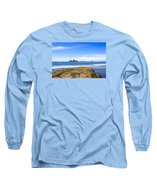 Pacific North West Coast Long Sleeve T-Shirt by Chris Smith