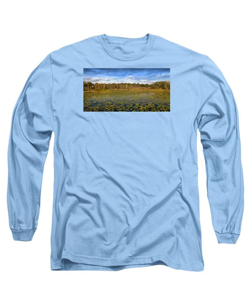 Pad City Long Sleeve T-Shirt by Steve Sperry