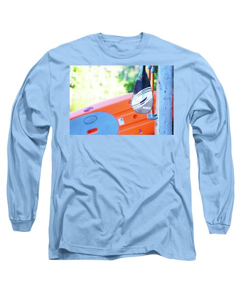 Long Sleeve T-Shirt featuring the photograph Paddle by Angi Parks