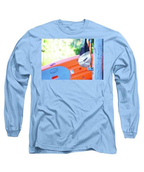 Paddle Long Sleeve T-Shirt by Angi Parks
