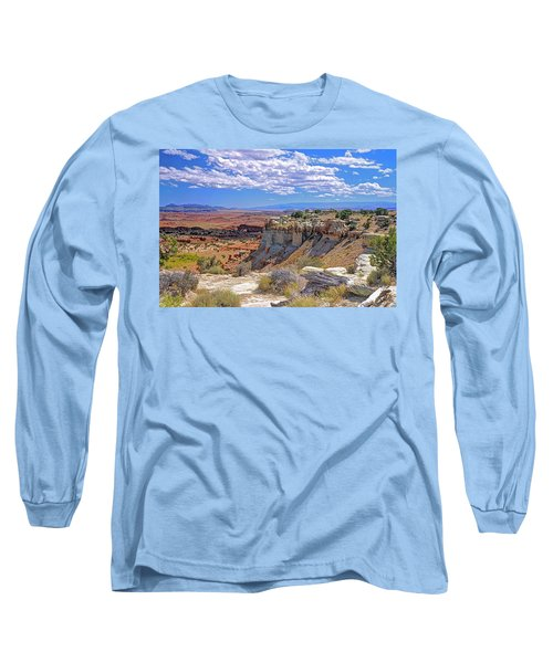 Painted Desert Of Utah Long Sleeve T-Shirt