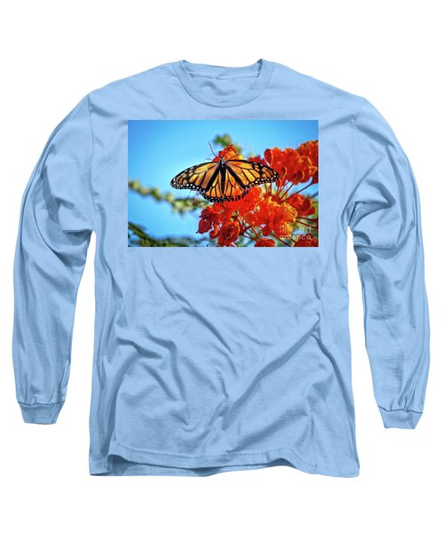 Long Sleeve T-Shirt featuring the photograph Painted Lady by Robert Bales