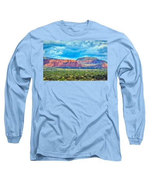 Painted New Mexico Long Sleeve T-Shirt