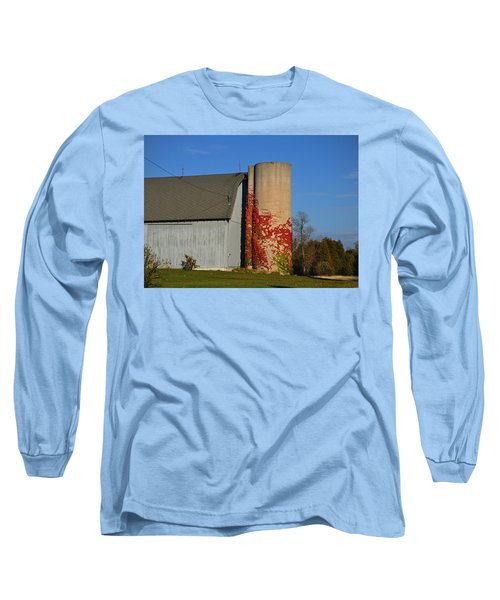 Painted Silo Long Sleeve T-Shirt