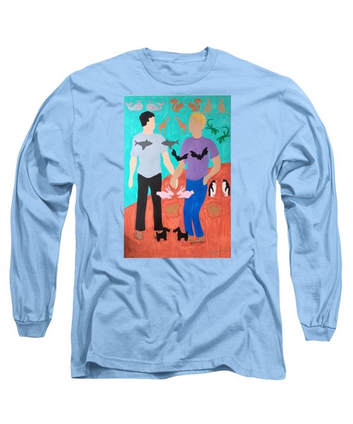 Pairs Long Sleeve T-Shirt