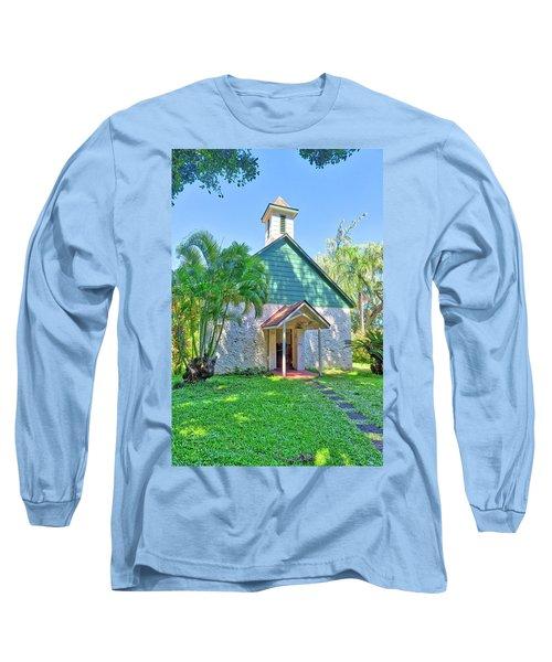Palapala Ho'omau Congregational Church Long Sleeve T-Shirt