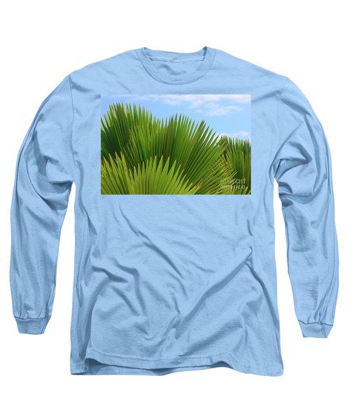 Palm Fans Long Sleeve T-Shirt