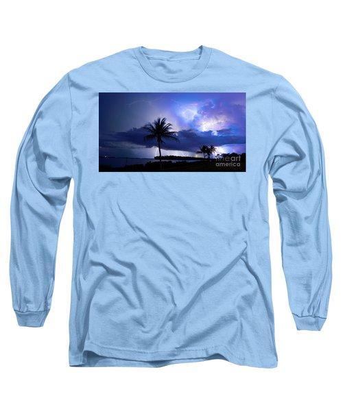 Palm Tree Nights Long Sleeve T-Shirt