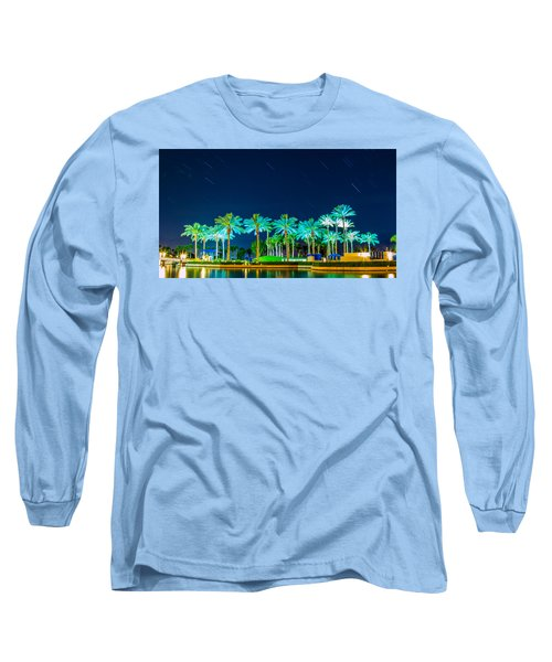 palm Trees Long Sleeve T-Shirt