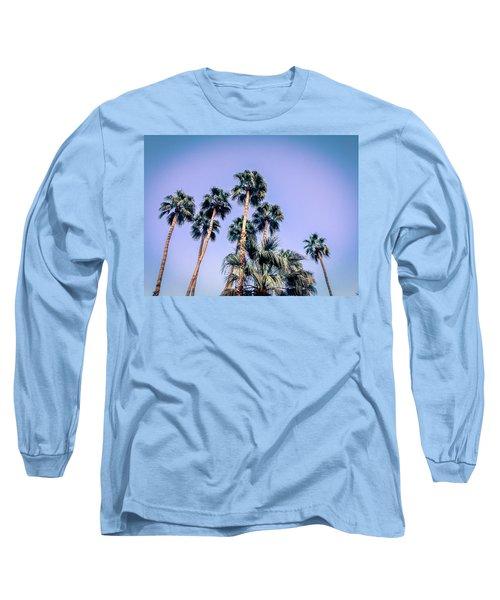 Palm Trees Palm Springs Summer Long Sleeve T-Shirt