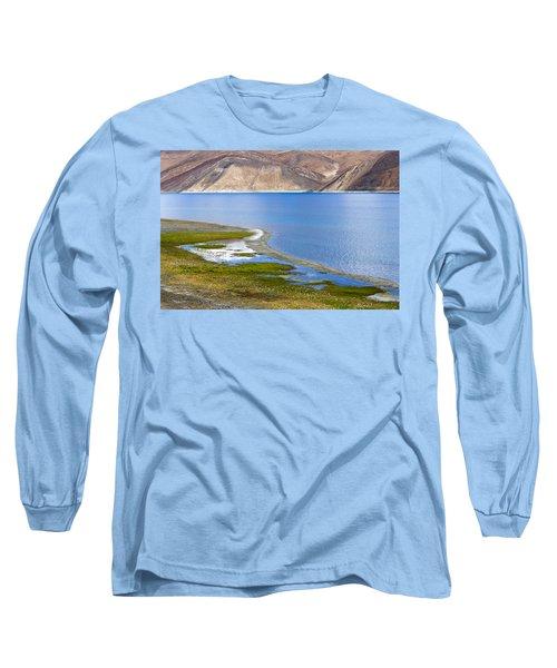 Pangong Tso, Ladakh, 2005 Long Sleeve T-Shirt