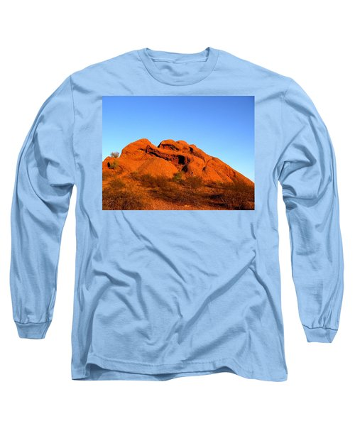 Long Sleeve T-Shirt featuring the photograph Papago Park 2 by Michelle Dallocchio