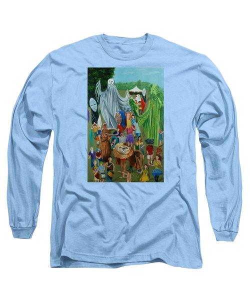 Paperhand Puppet Parade Long Sleeve T-Shirt