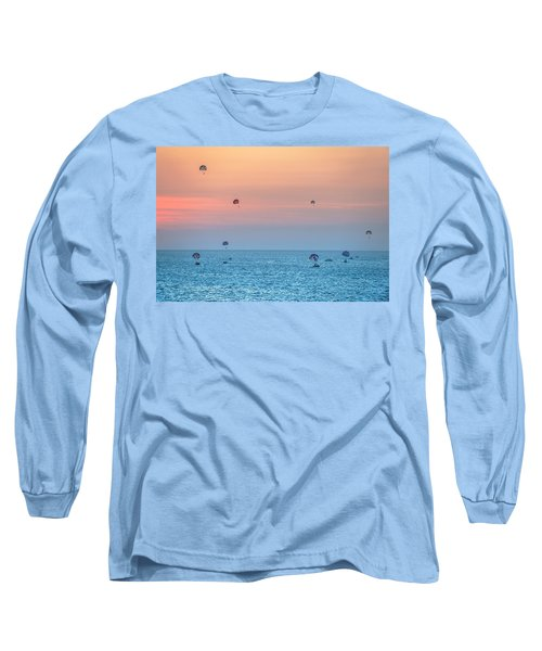 Parasailing At Boracay Long Sleeve T-Shirt