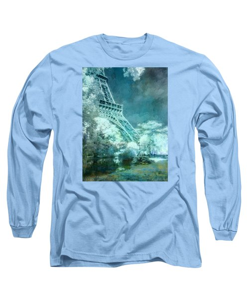 Parisian Dream Long Sleeve T-Shirt by John Rivera