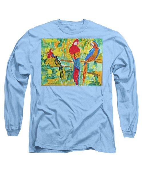 Parrots Long Sleeve T-Shirt