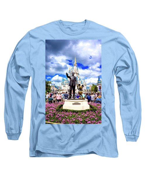 Long Sleeve T-Shirt featuring the photograph Partners Two by Greg Fortier