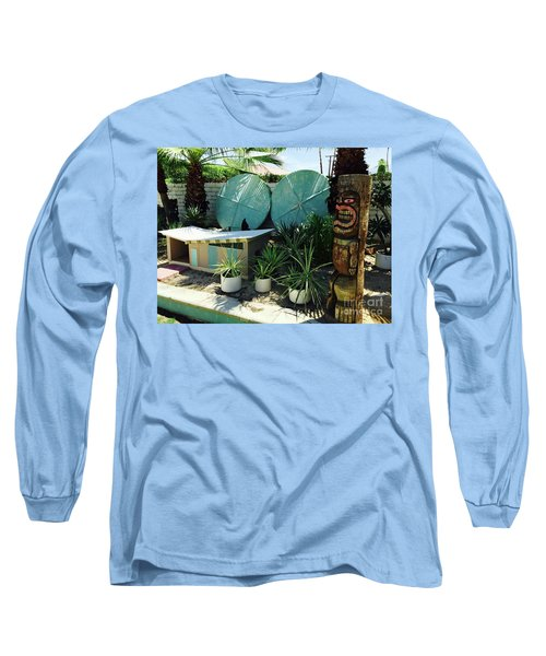 Party At The Doghouse Long Sleeve T-Shirt by Beth Saffer