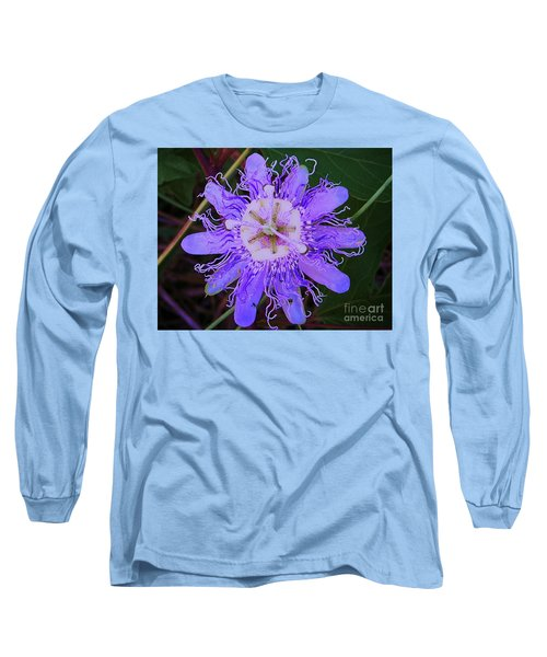 Passion Flower Bloom Long Sleeve T-Shirt