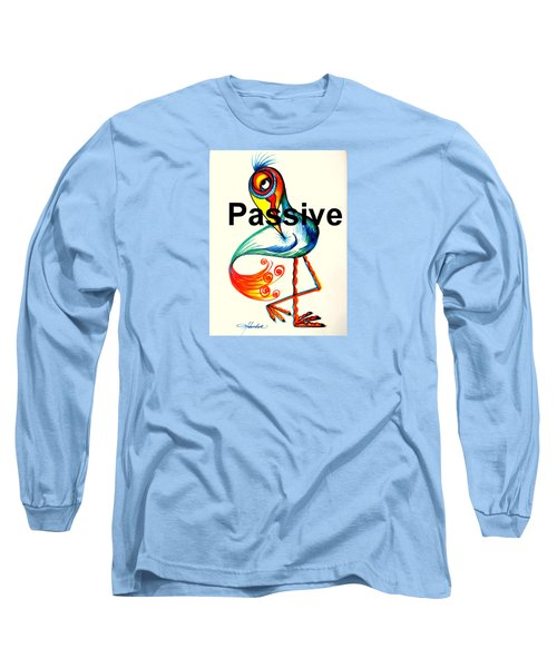 Passive Taino Bird Long Sleeve T-Shirt