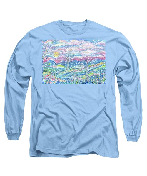 Pastel Country Long Sleeve T-Shirt