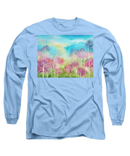 Pastel Spring Long Sleeve T-Shirt