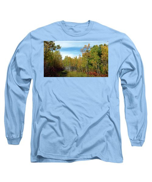 Path In The Woods 7 Long Sleeve T-Shirt