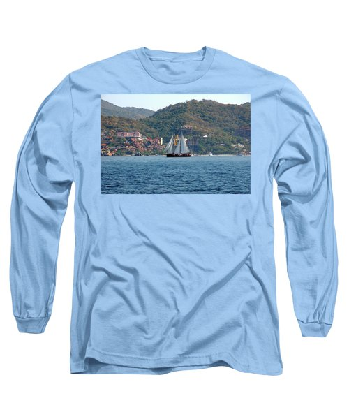 Patricia Belle Long Sleeve T-Shirt by Jim Walls PhotoArtist