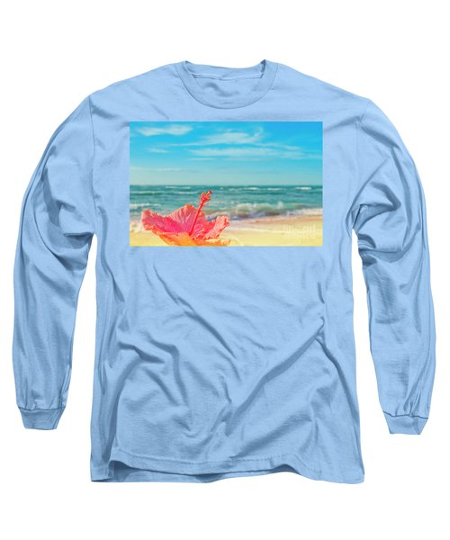 Long Sleeve T-Shirt featuring the photograph Peace Love And Aloha by Sharon Mau