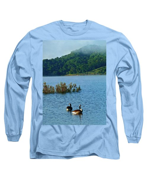 Peaceful Morning Long Sleeve T-Shirt