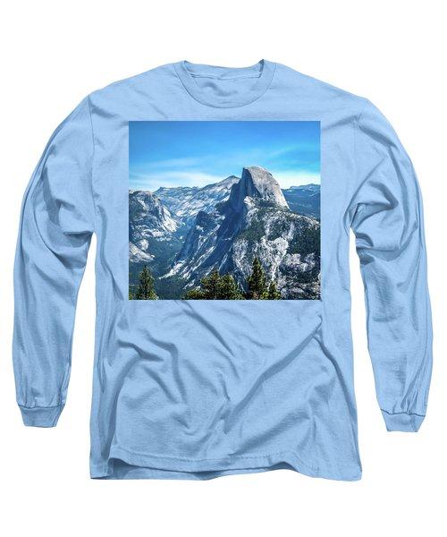 Peak Of Half Dome- Long Sleeve T-Shirt