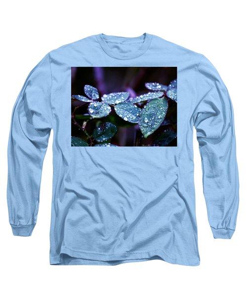 Pearls Of Nature Long Sleeve T-Shirt by Bernd Hau