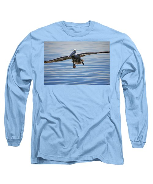 Pelican On Approach Long Sleeve T-Shirt