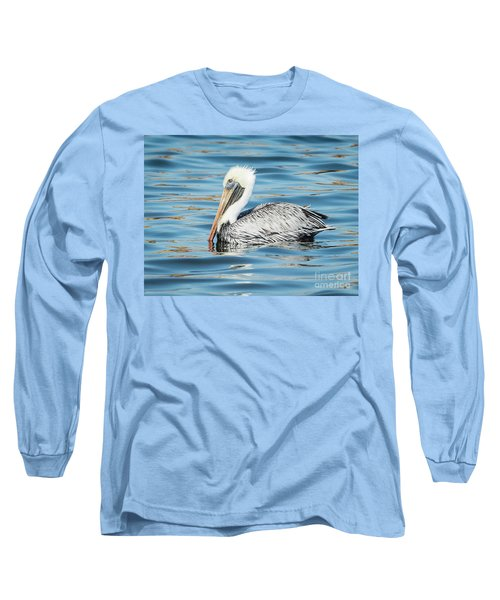 Pelican Relaxing Long Sleeve T-Shirt by Scott and Dixie Wiley