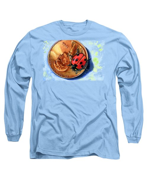 Penny And Lady Bug Long Sleeve T-Shirt