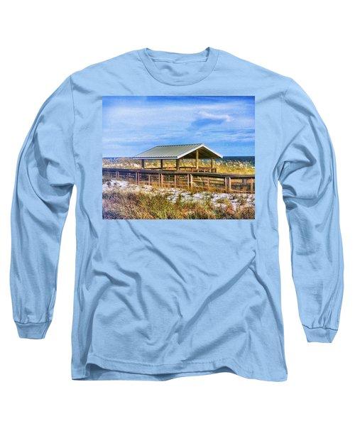 Perdido  Long Sleeve T-Shirt by Carlos Avila