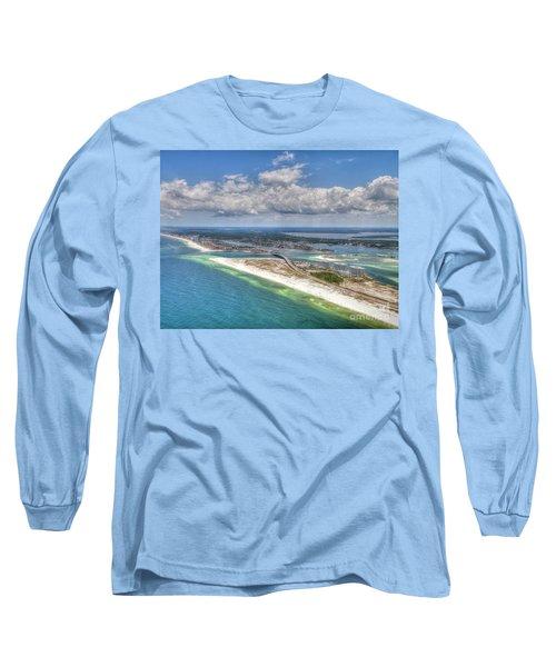 Perdido Pass Aerial 3029 Long Sleeve T-Shirt