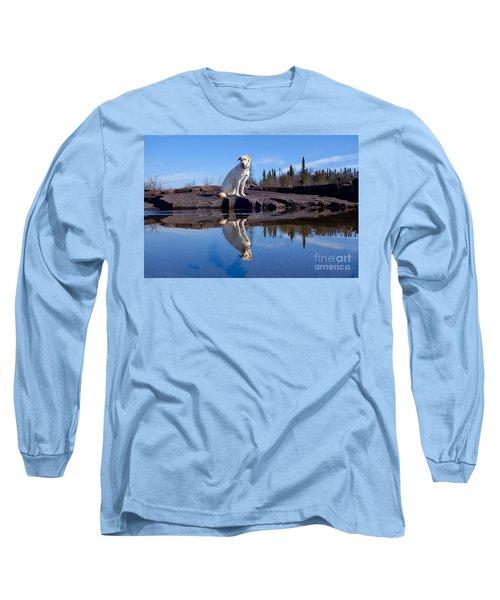 Perfect Reflections Long Sleeve T-Shirt by Sandra Updyke