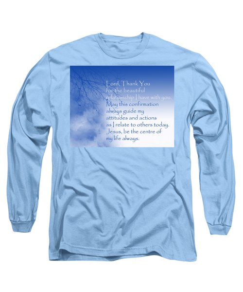 Perfect Relationship Long Sleeve T-Shirt by Trilby Cole