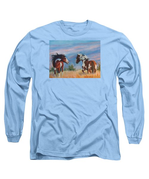 Picasso Challenge Long Sleeve T-Shirt by Karen Kennedy Chatham