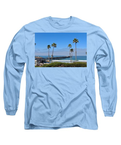 Pier And Palms Long Sleeve T-Shirt