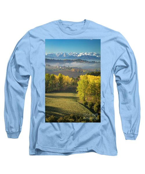 Long Sleeve T-Shirt featuring the photograph Piemonte Morning by Brian Jannsen