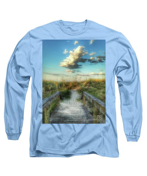 Pine Street Glow Long Sleeve T-Shirt by Linda Olsen