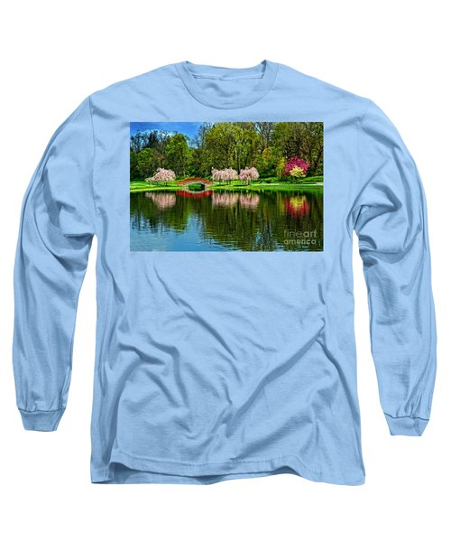 Pinks And Reds Long Sleeve T-Shirt
