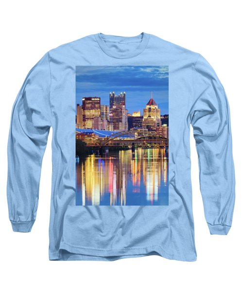 Pittsburgh 2 Long Sleeve T-Shirt by Emmanuel Panagiotakis