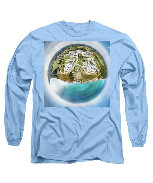 Long Sleeve T-Shirt featuring the photograph Planet Concordia by Randy Scherkenbach