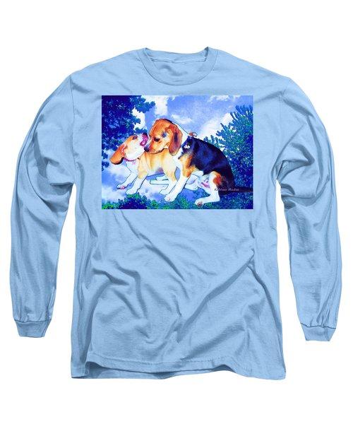 Playful Combat Long Sleeve T-Shirt